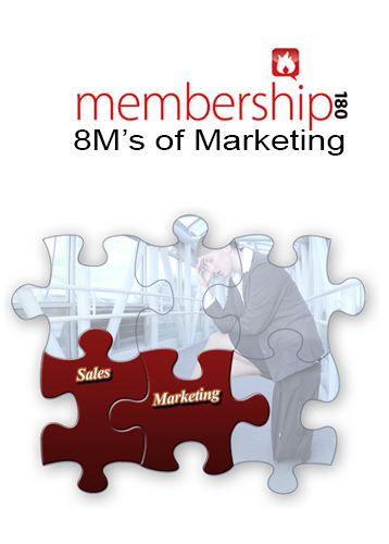 The 8 M's of Marketing for Membership Organizations book cover