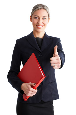 Business women - thumbs up Testimonials For Your Membership Organization
