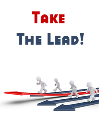 take the lead in organization management